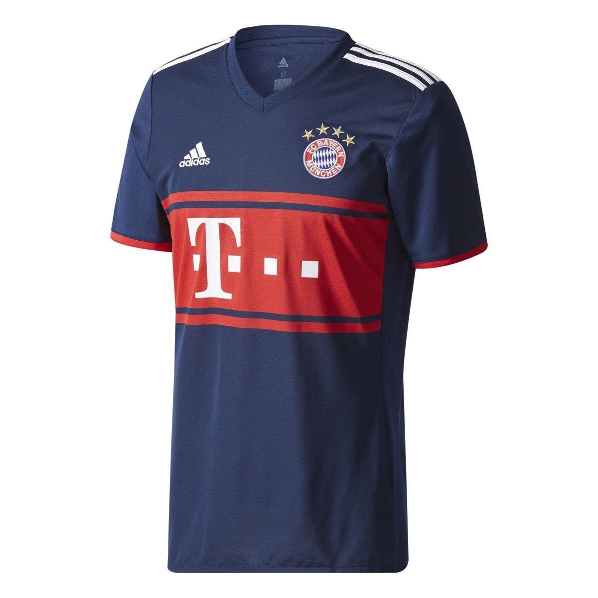 cd4d44810a Camiseta Adidas Bayern de Munique II AZ7937 - Marinho Vermelho ...