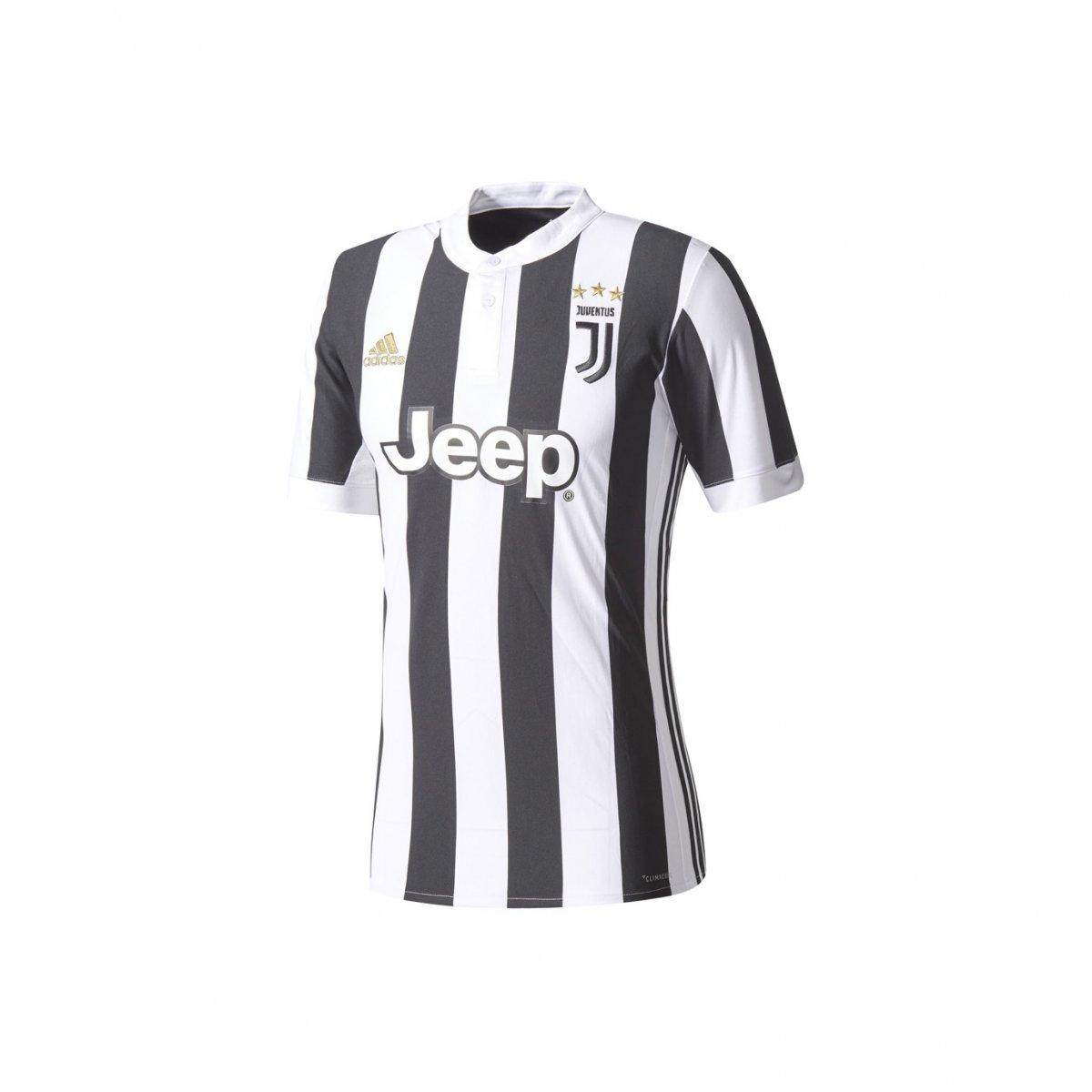 3f4c982299 Camiseta Adidas Infantil Juventus I AZ8703 - Preto Branco - Calçados ...