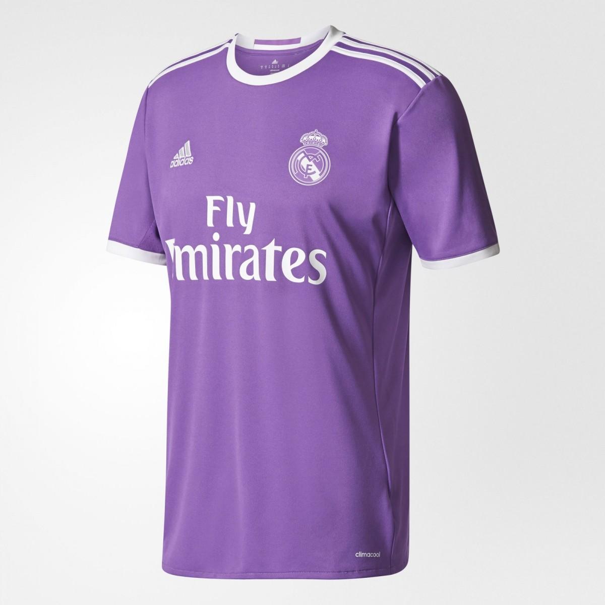 9a5721a693384 Camiseta Adidas Real Madrid II AI5158 - Roxo - Calçados Online ...