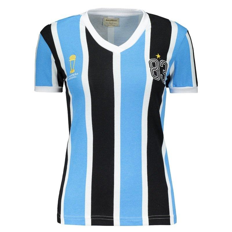 Camiseta Feminina Tricolor 1983 Retrô Mania TRI 1983 - Tricolor ... 8aa7894ab82b6
