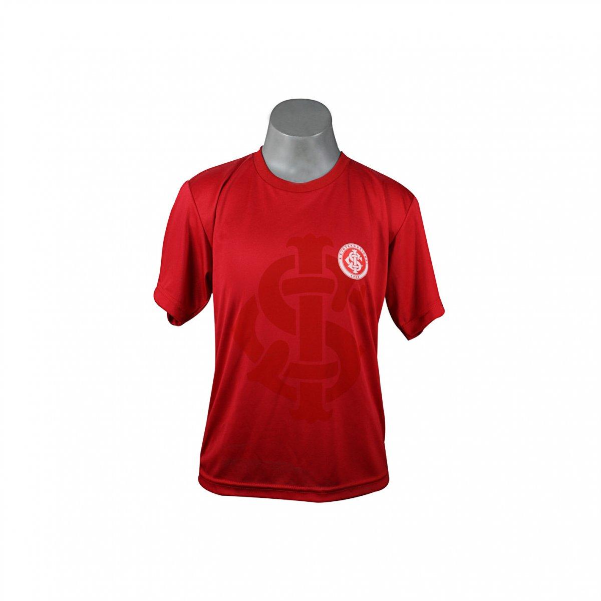 bf93b24b6bd55 Camiseta Infantil Inter Dilva Oldoni INT 4351 Vermelho
