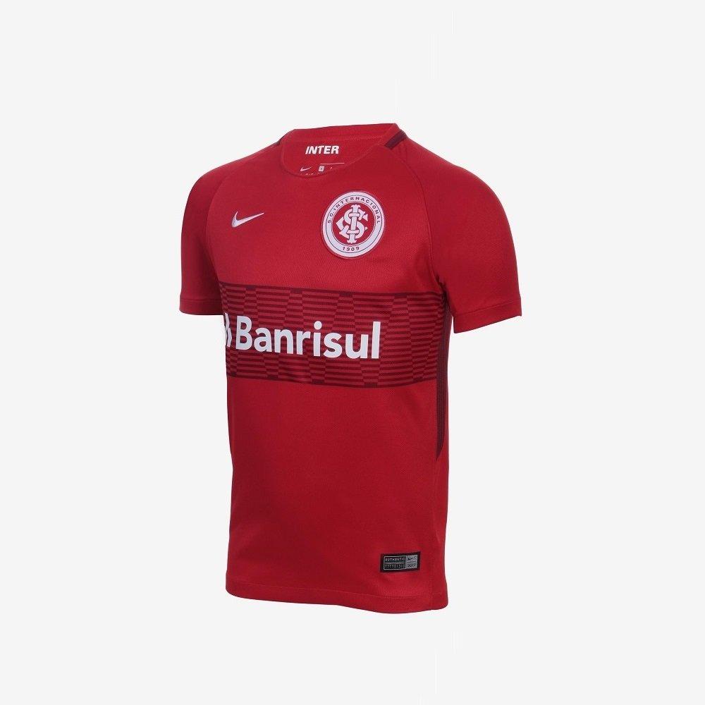 a90c0ec7cb Camiseta Infantil Nike Internacional 848885 612 Vermelho
