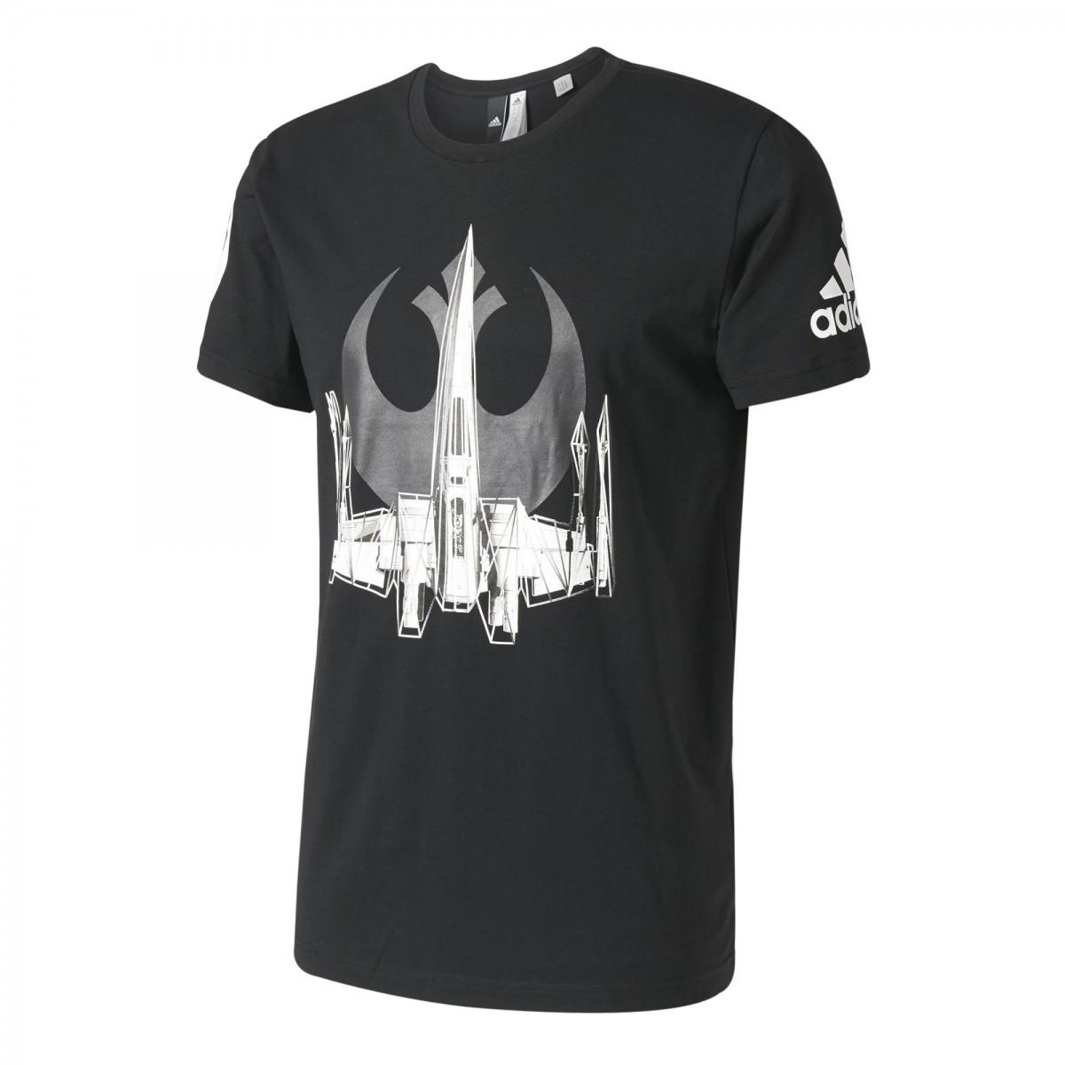 36d2ab024f Camiseta Masculina Adidas Star Wars X-Wing BK2840 Preto