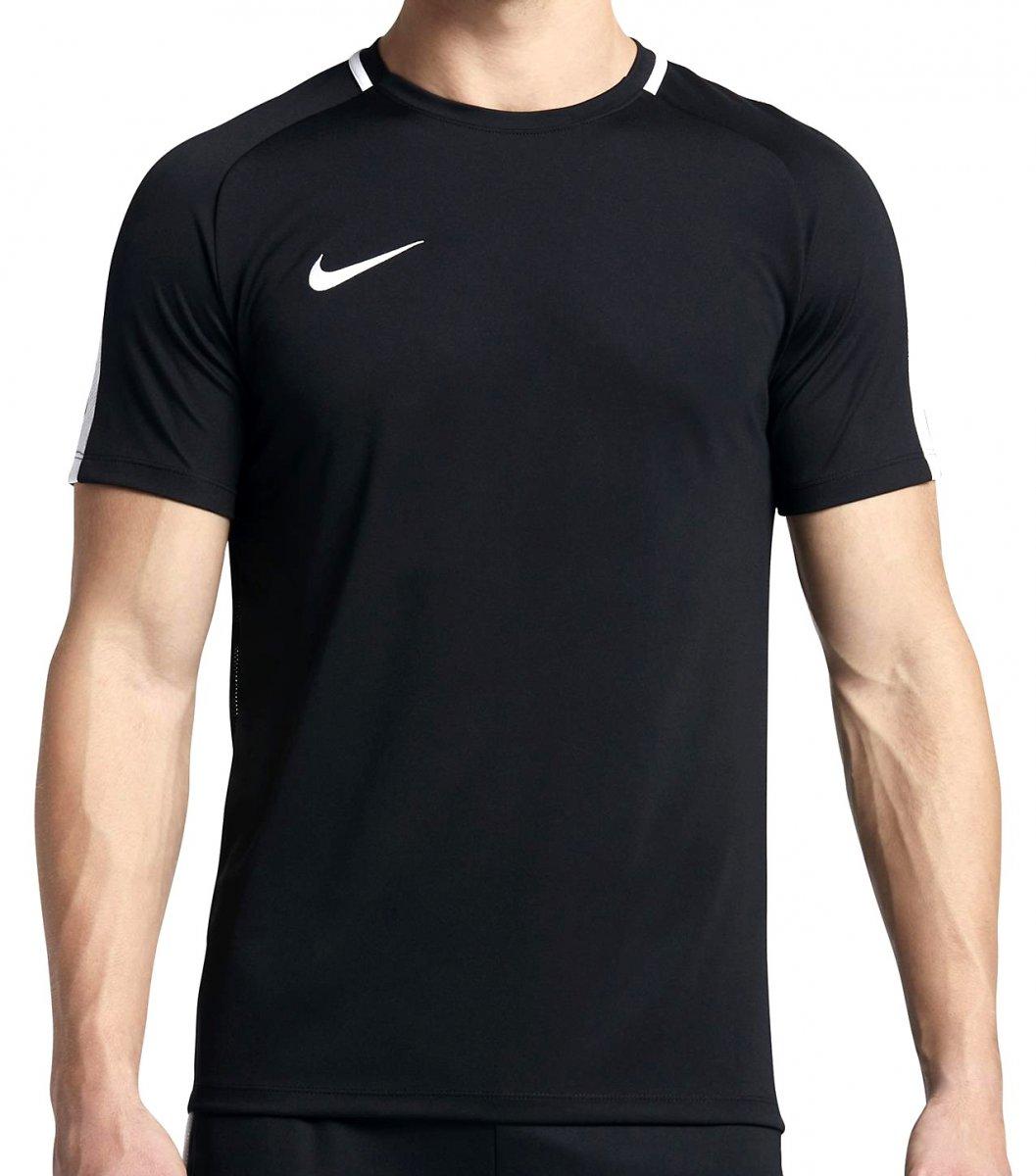 d7f8f51107 Camiseta Masculina Nike Academy 832967-010 - Preto Branco - Calçados ...