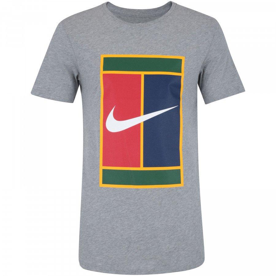 2584cd5736d40 Camiseta Masculina Nike Heritage 943182-063 - Cinza - Calçados ...