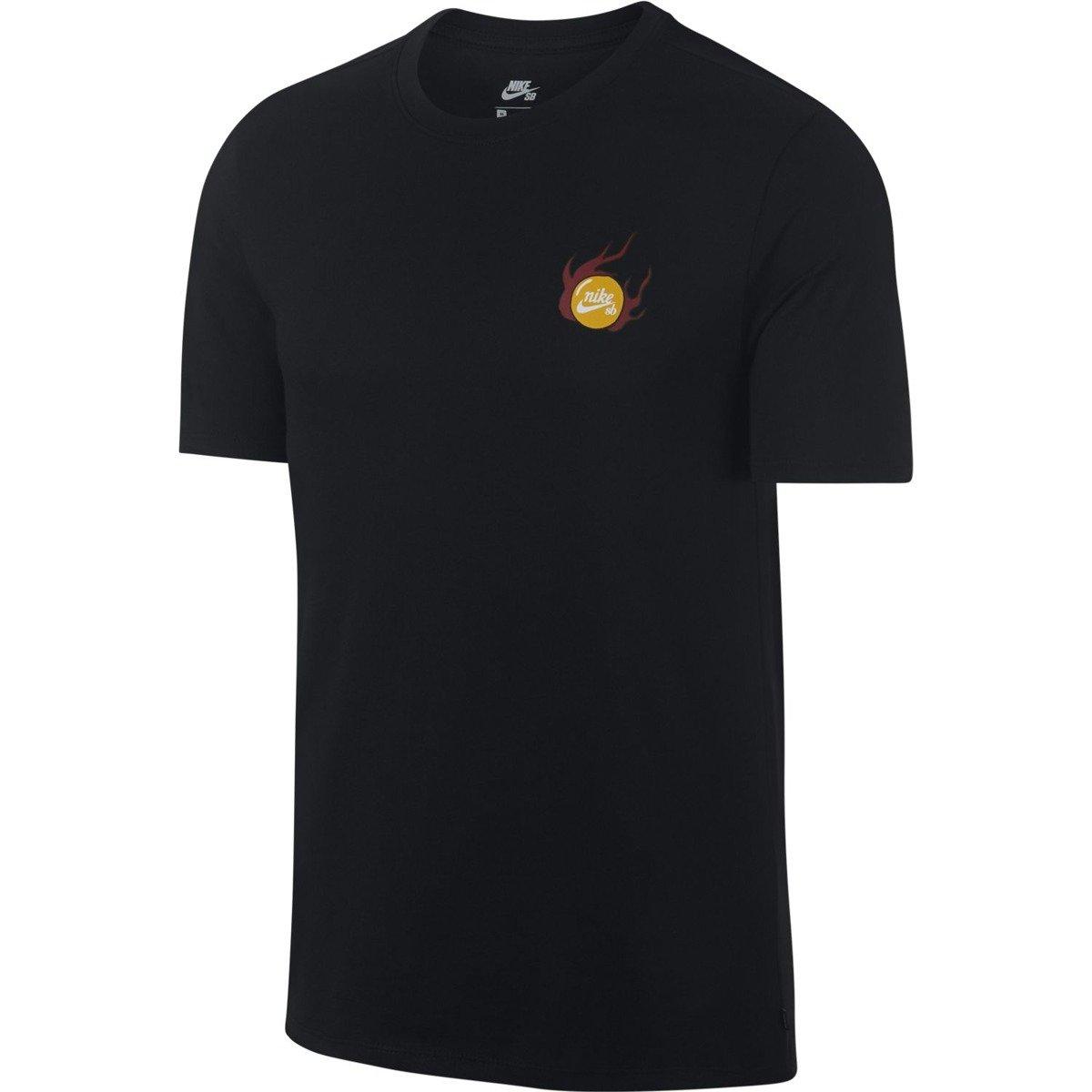 8a74d6f716547 Camiseta Masculina Nike Sb Dragon Manga Curta 923436-010 - Preto ...