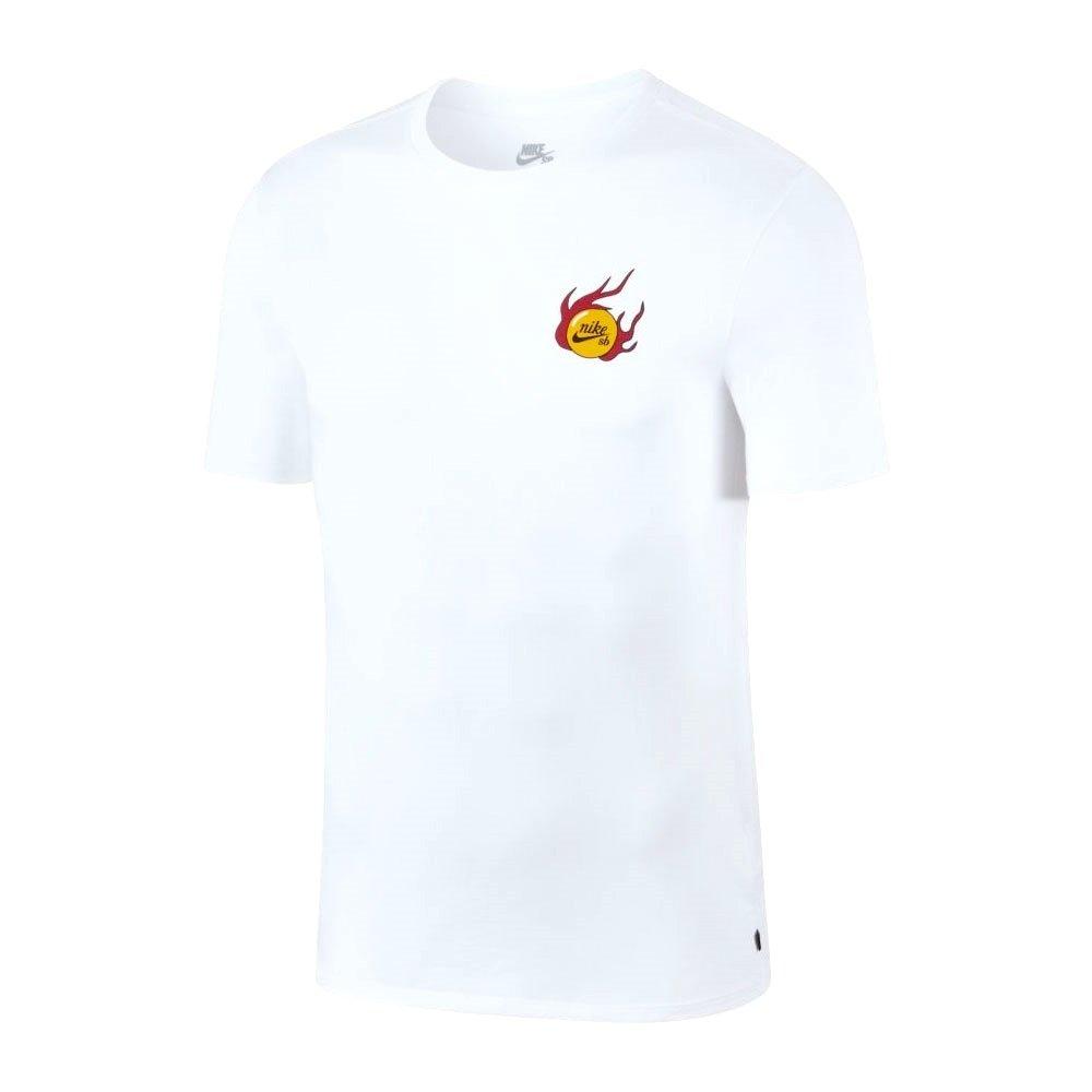 2a36e05f63320 Camiseta Masculina Nike Sb Dragon Manga Curta 923436-100 - Branco ...