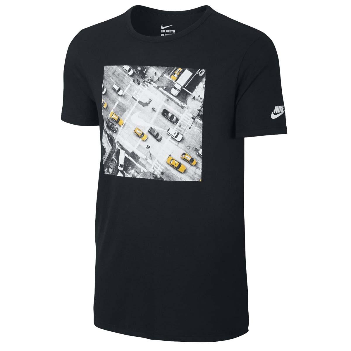 Camiseta Nike AMP Tennis Street Court 715823-010 - Preto - Calçados ... 7ae406f776a4a