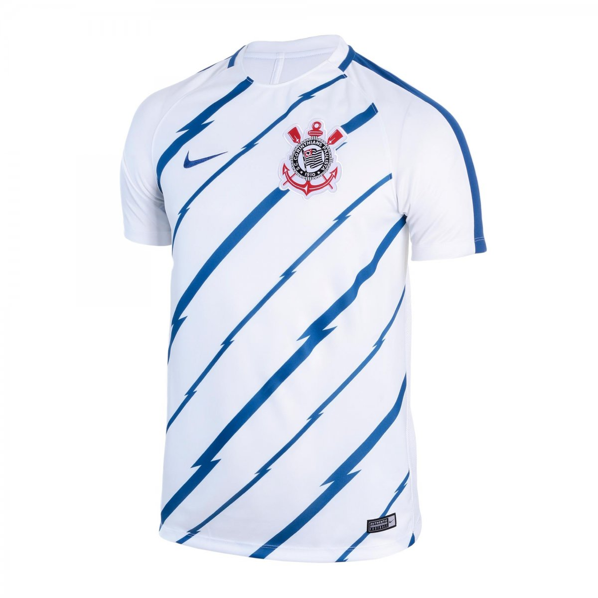 Camiseta Nike Corinthians Dry Squad Top Masculina 832285-100 Branco 362d2edb3c1dc