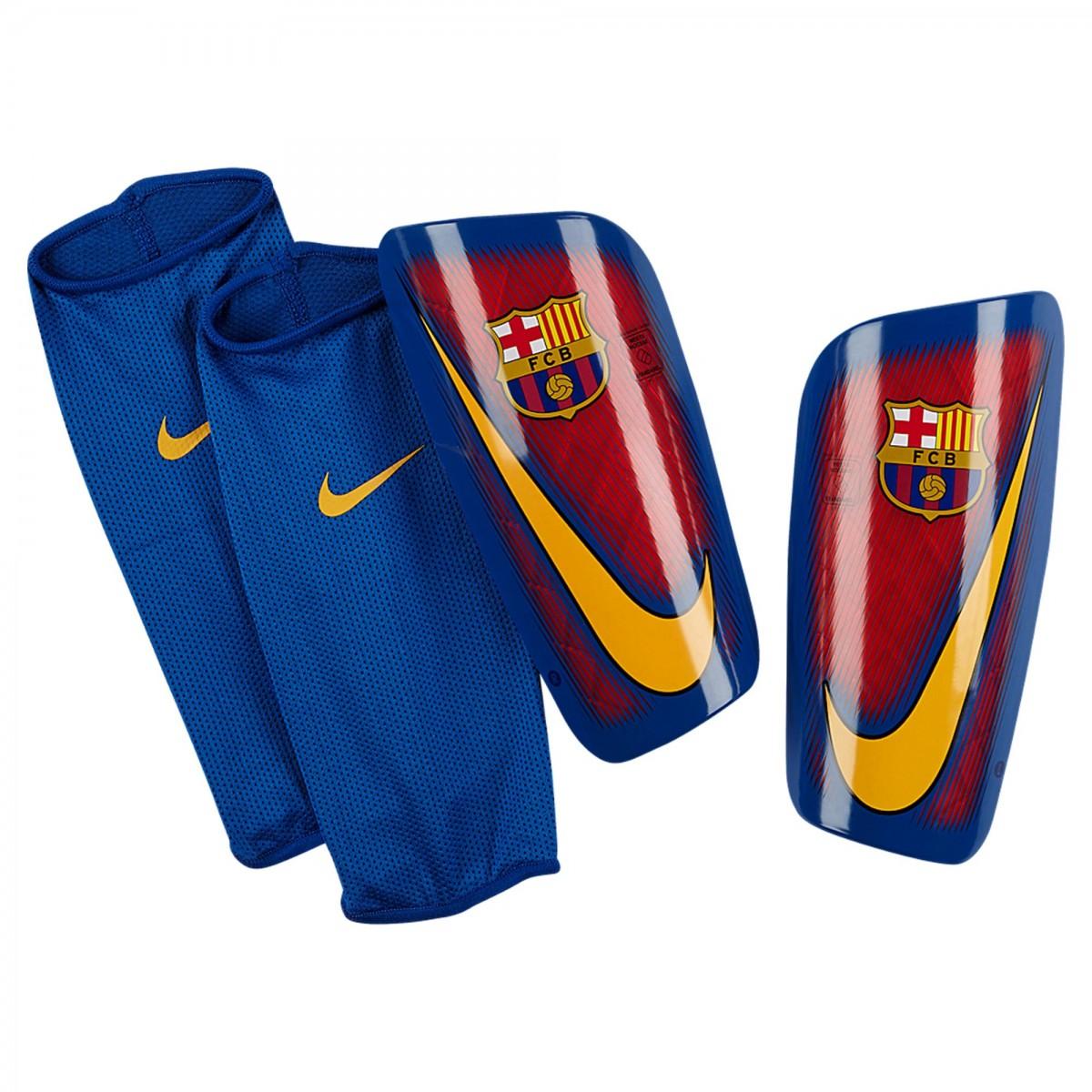 Caneleira Nike FC Barcelona Mercurial SP2090-633 Azul Vermelho 2ba9c34870506