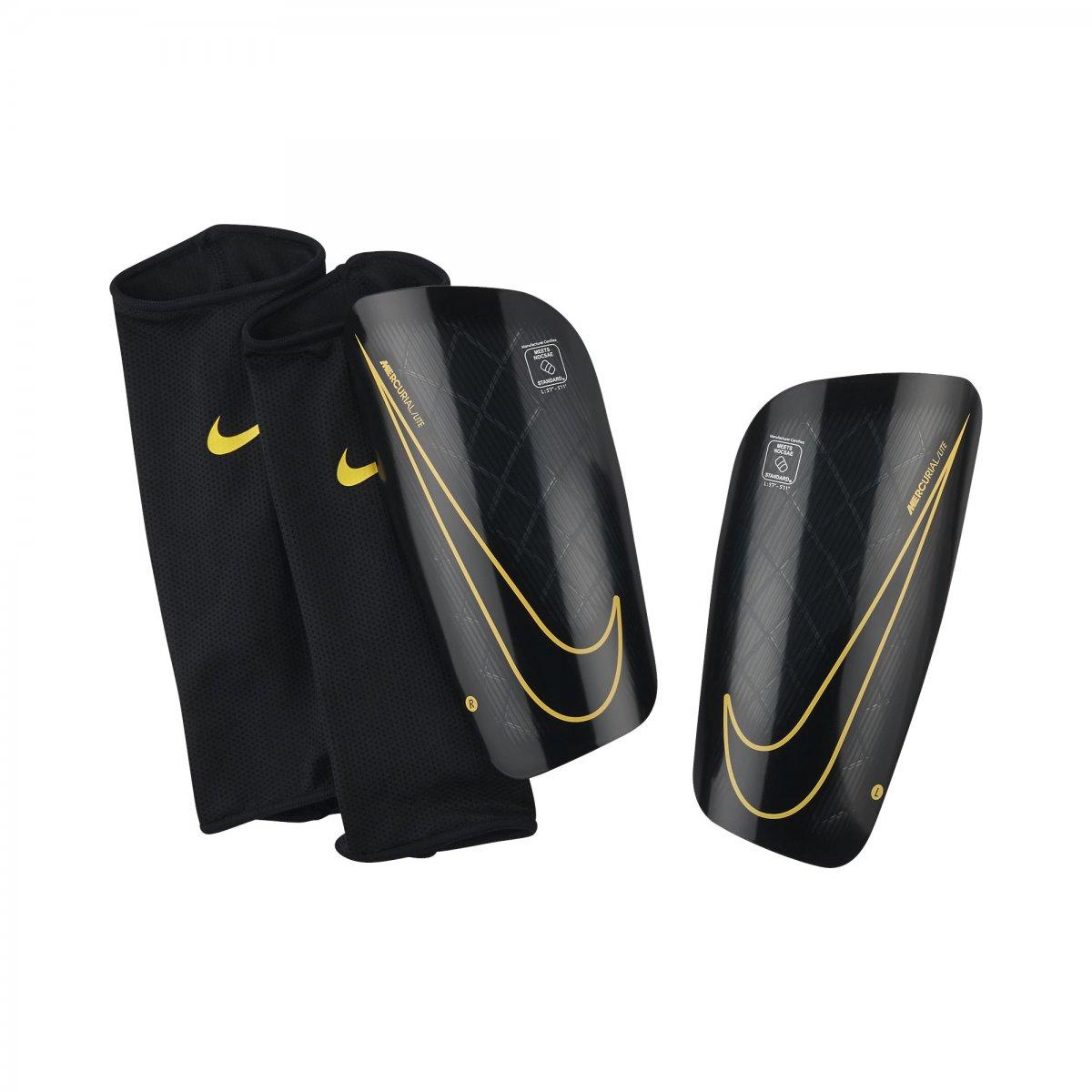 Caneleira Nike Mercurial Lite SP2086-013 Preto Laranja 4ea1e91893b82