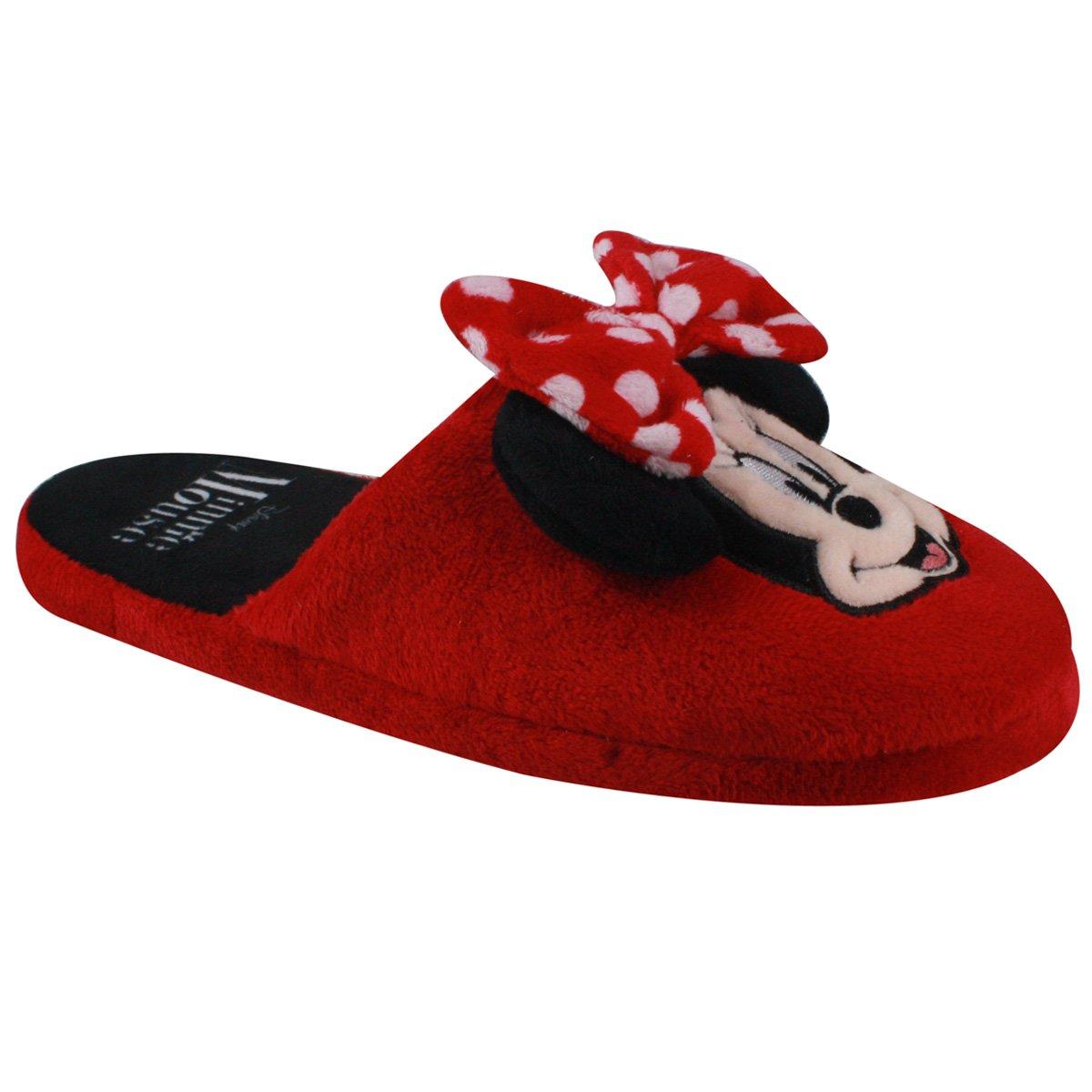 db56421b1 Chinelo de Inverno Ricsen Minnie Mouse 12090 - Vermelho - Calçados ...