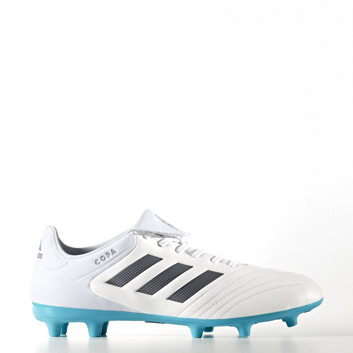 c49e6af2c Chuteira Campo Adidas Copa 17.3 FG S77141 Branco Turquesa
