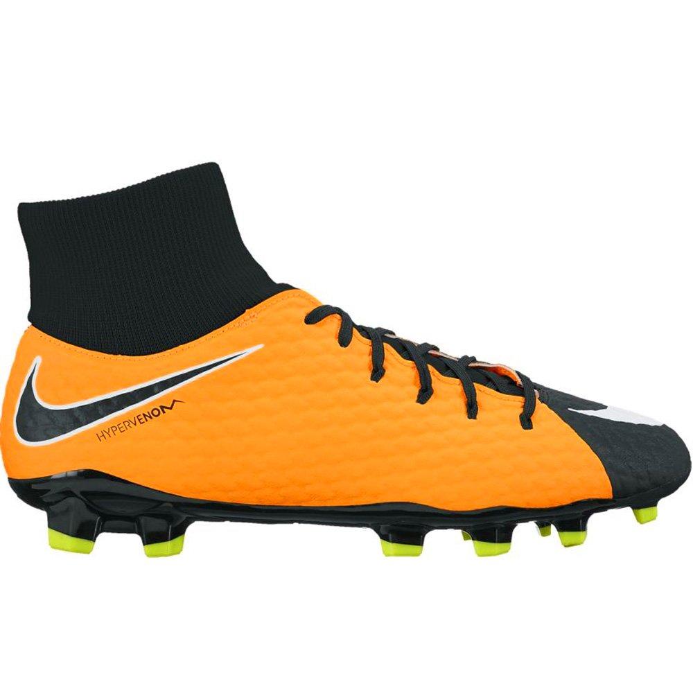 Chuteira Campo Nike Hypervenom Phelon III 917764-801 Preto Amarelo 48faf843e20db