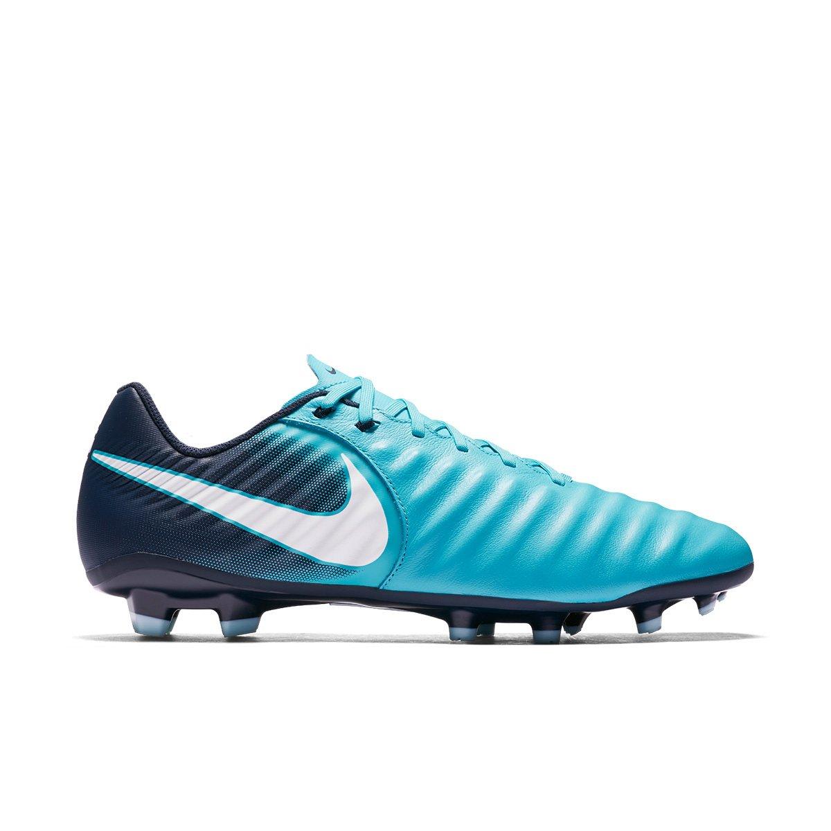 cc049dd12c Chuteira Campo Nike Tiempo Ligera IV FG 897744-414 Marinho Azul