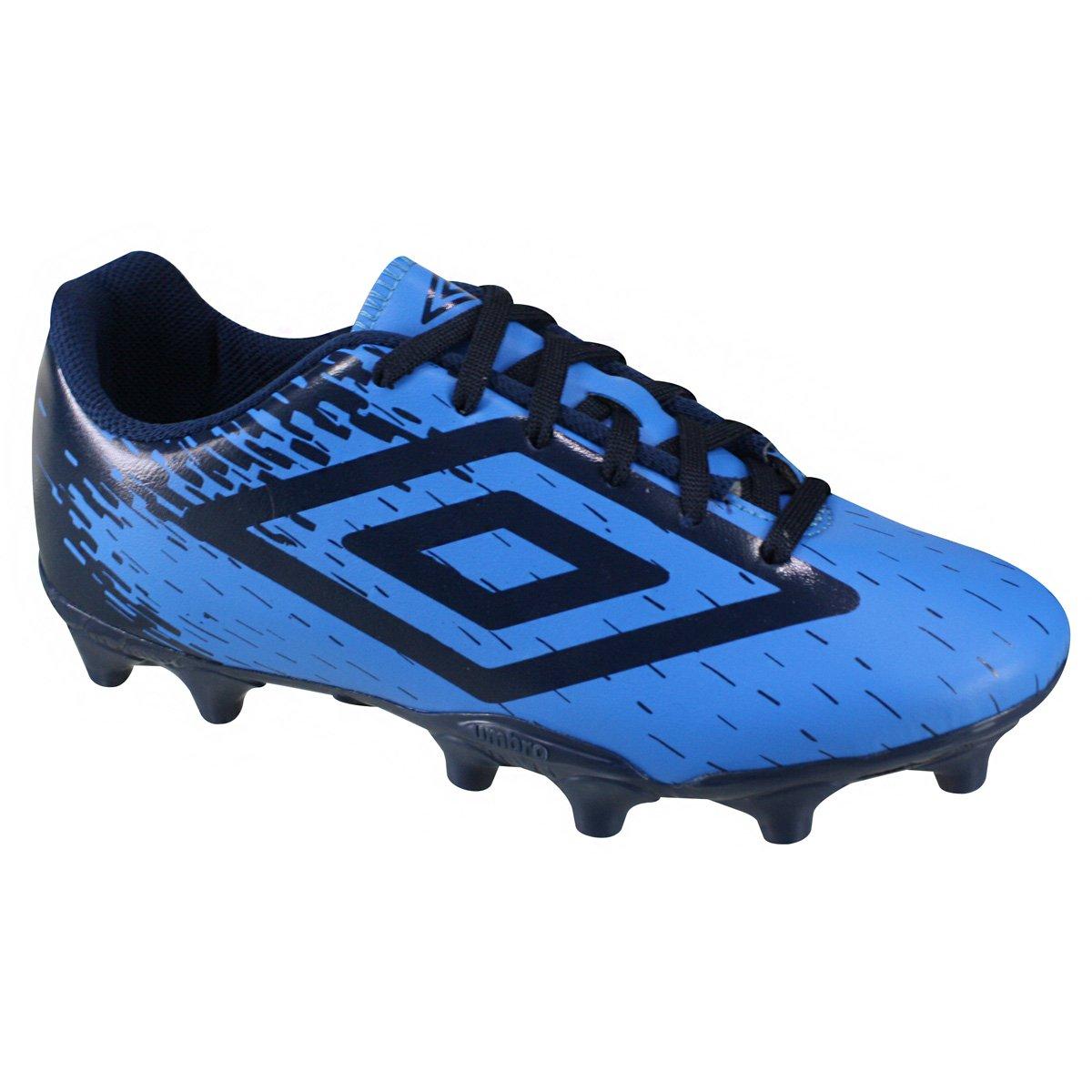 Chuteira Campo Umbro Acid 0F70080-337 - Azul Marinho - Calçados ... d8691b3f683fa