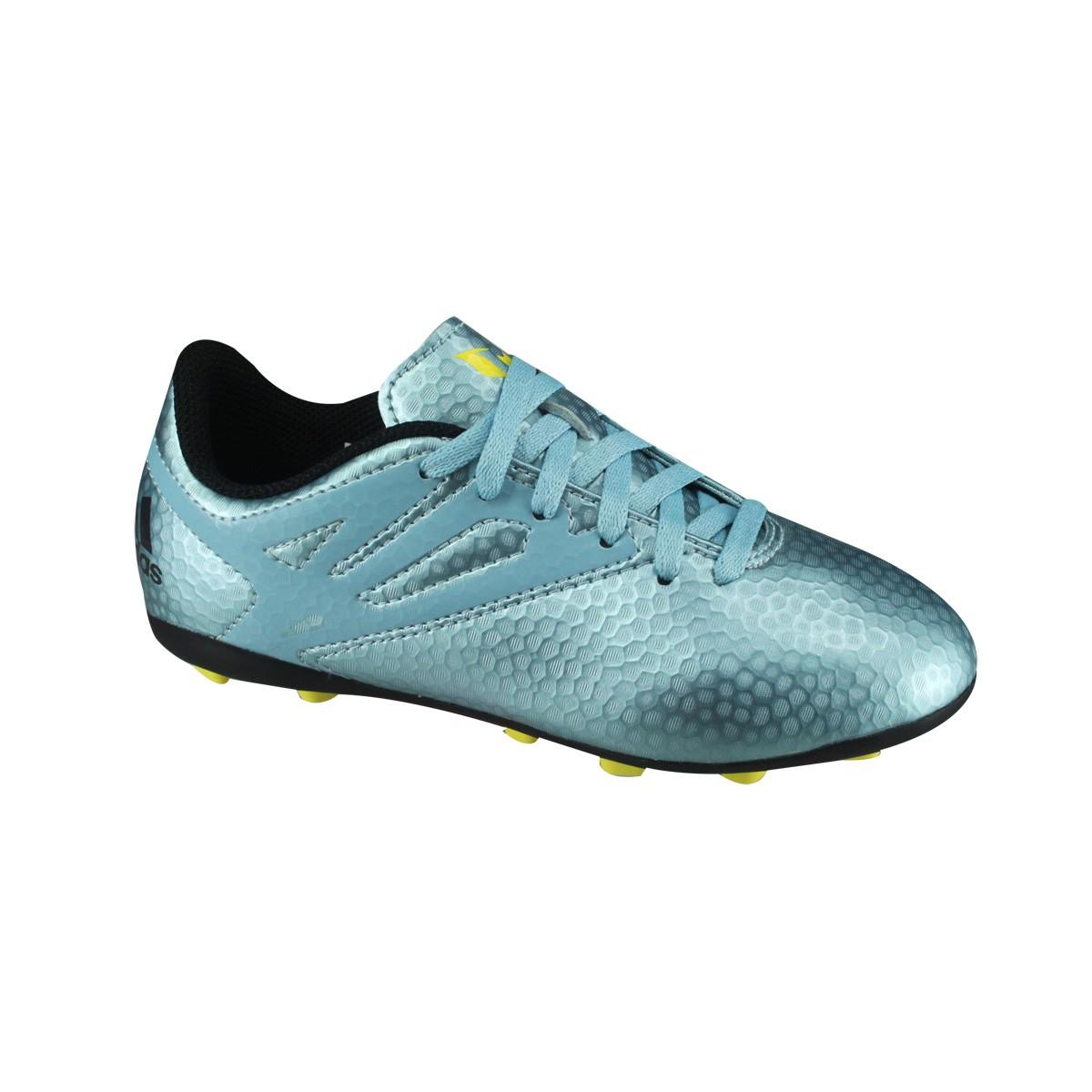 Chuteira Campo Infantil Adidas Messi 15.4 FXG B26956 Petroleo a8c47b12bc741