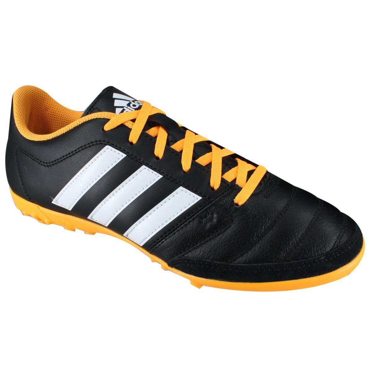 Chuteira F7 Adidas Gloro 16.2 TF S78819 - Preto Branco - Calçados ... e1673cad6fd06
