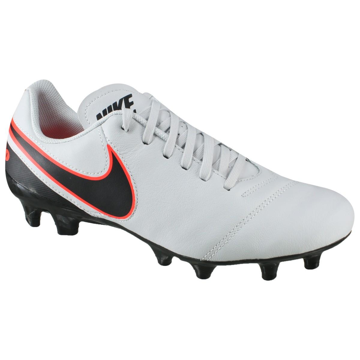 969c6bc3c8 Chuteira Nike Tiempo Genio II Leather FG 819213-001 - Cinza ...