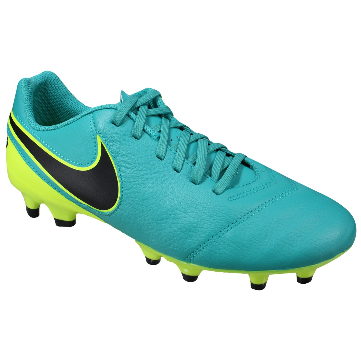 b865538a0b Chuteira Nike Tiempo Genio II Leather FG 819213-307 - Verde ...