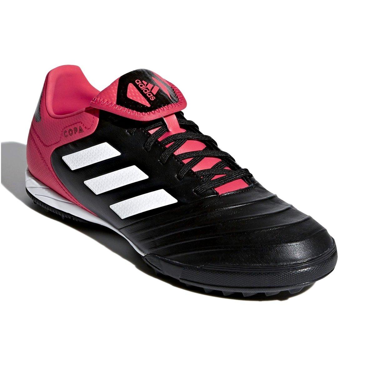 b9b28fdecd Chuteira Society Adidas Copa Tango 18.3 TF CP9022 - Preto Coral ...