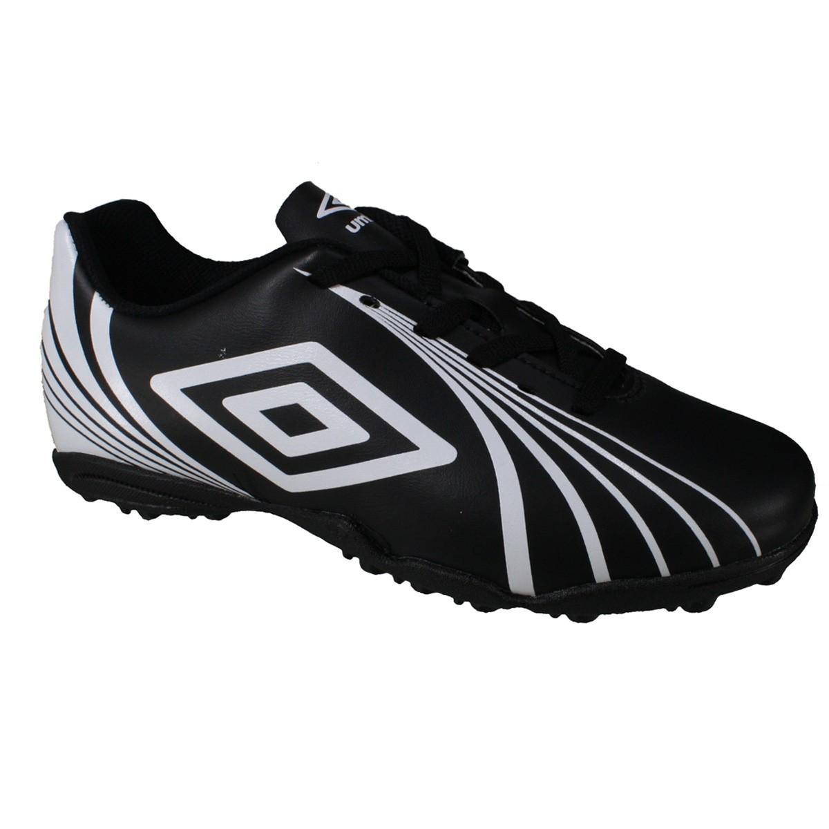 Chuteira Society Umbro Sprint OF71061-121 - Preto Branco - Calçados ... 8038efa963dcd
