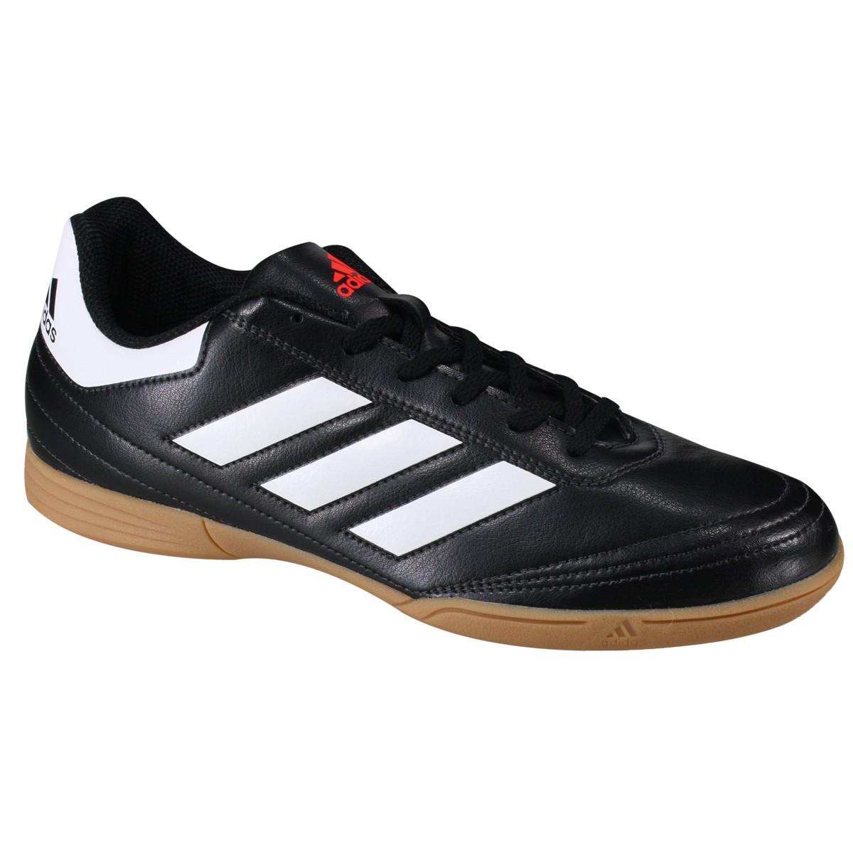 ed19499cf7aa9 Indoor Adidas Goletto VI IN AQ4289 Preto Branco