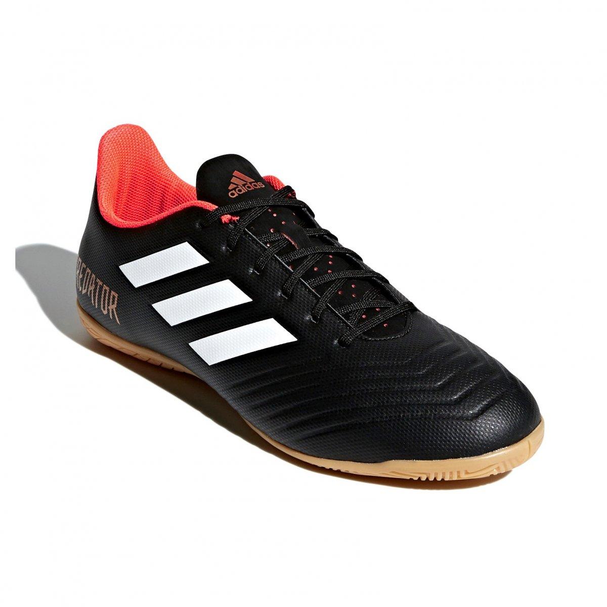 e6856a1535414 Indoor Futsal Adidas Predator Tango 18.4 IN CP9275 - Preto Laranja ...