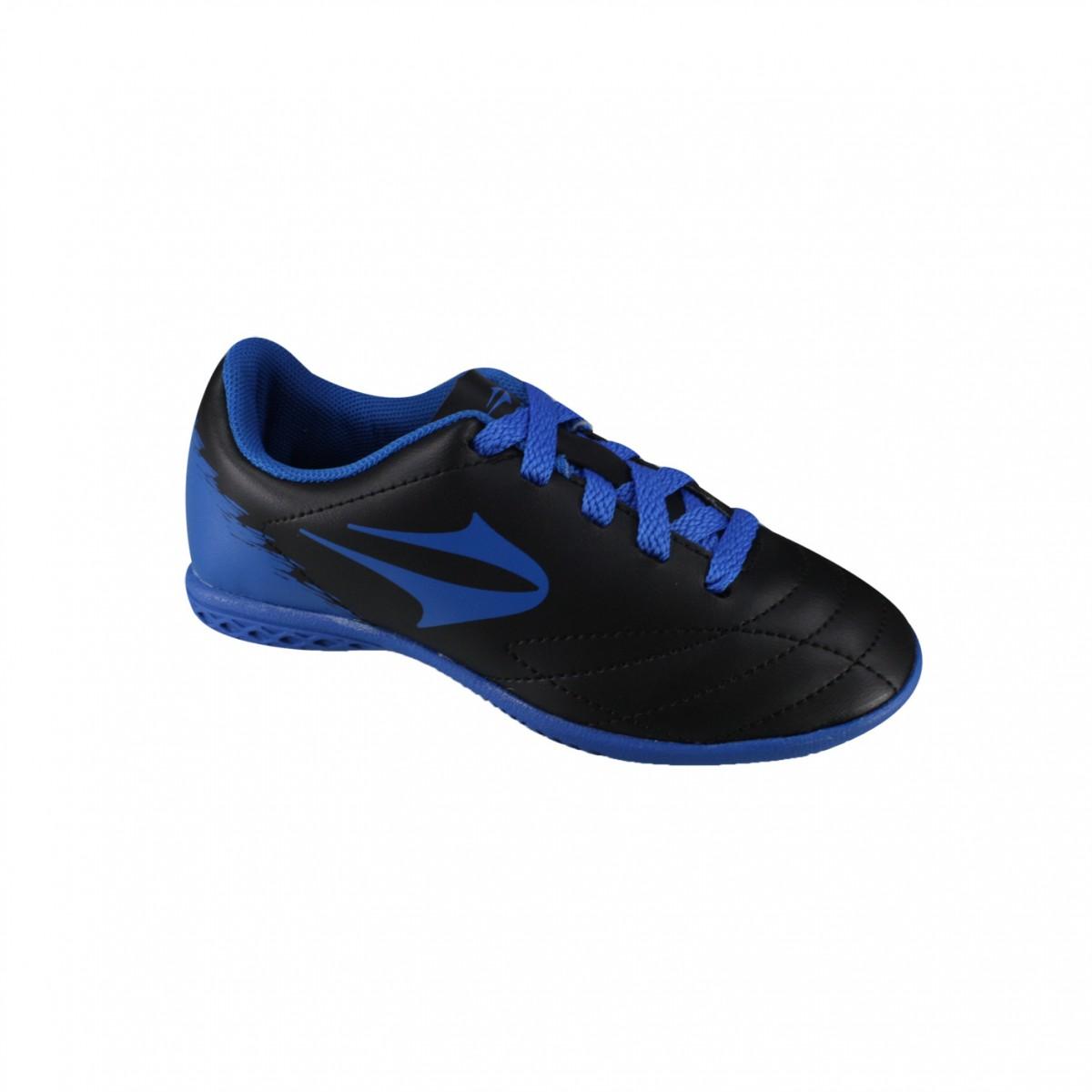 Indoor Infantil Topper Slick II JR 4133924 0095 - Preto Azul ... 9d140aaf4422f