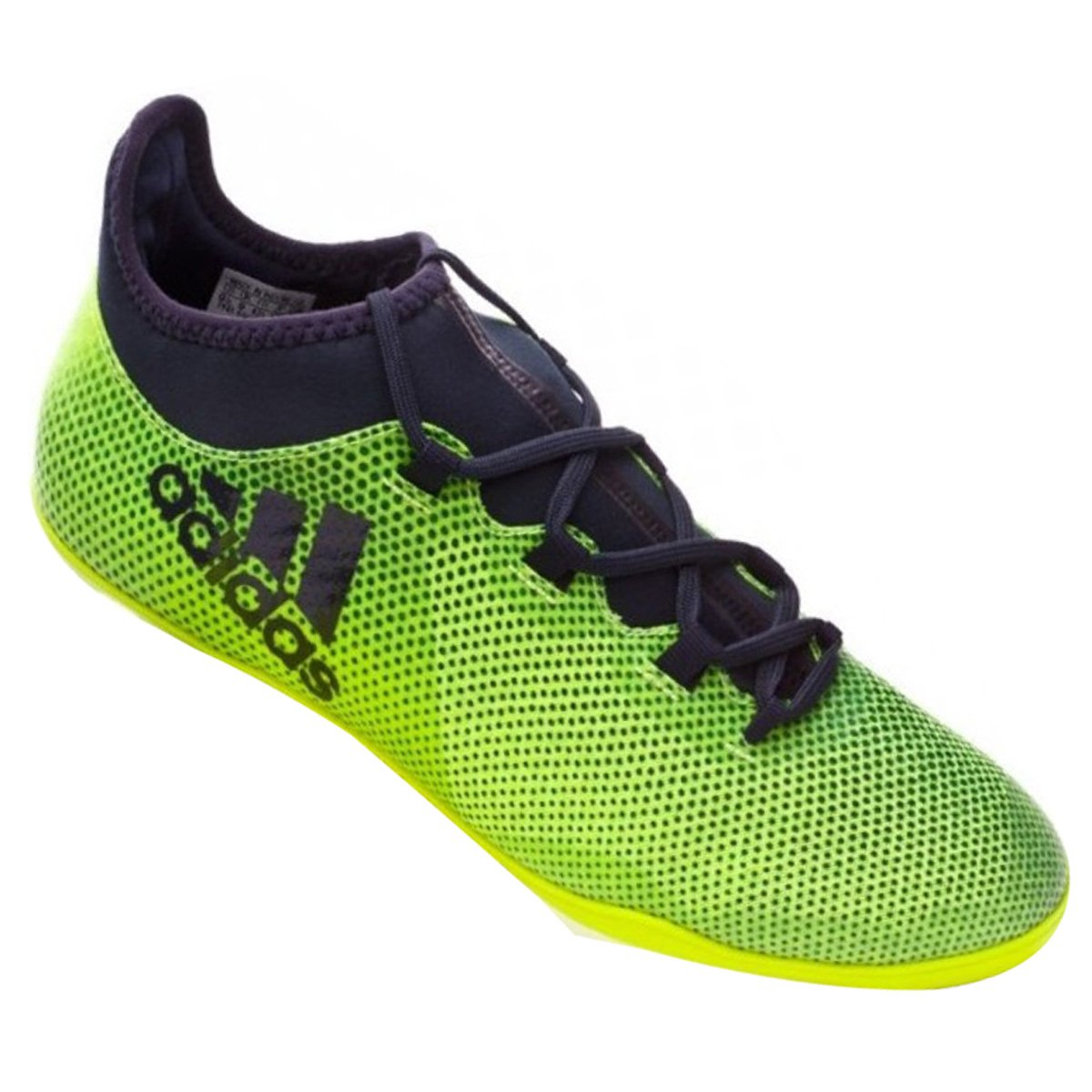 551bb38525087 Indoor Masculino Adidas X Tango 17.3 CG3717 Verde Preto
