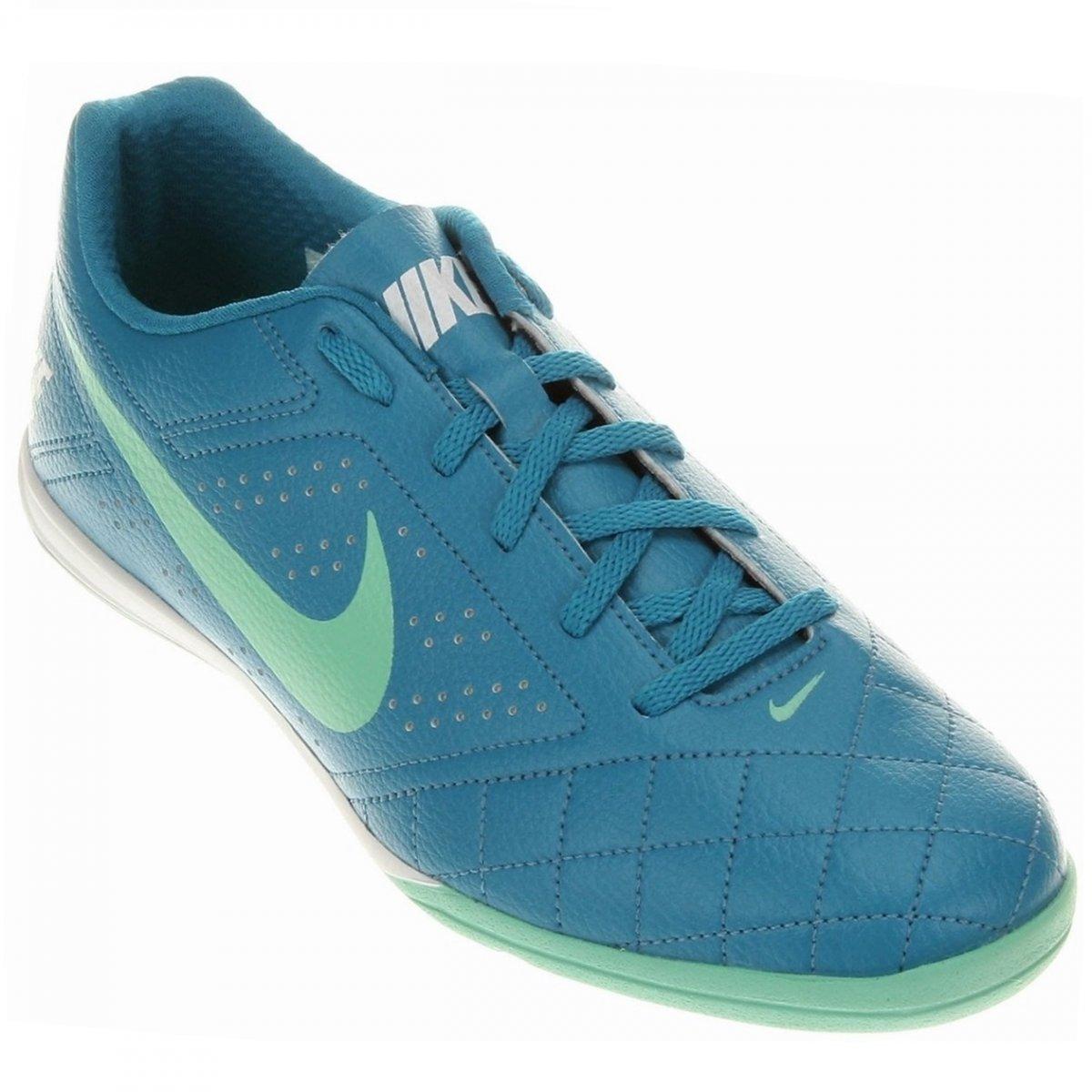 90a8ae4ccece7 Indoor Nike Beco 2 646433-401 - Azul Verde - Calçados Online ...