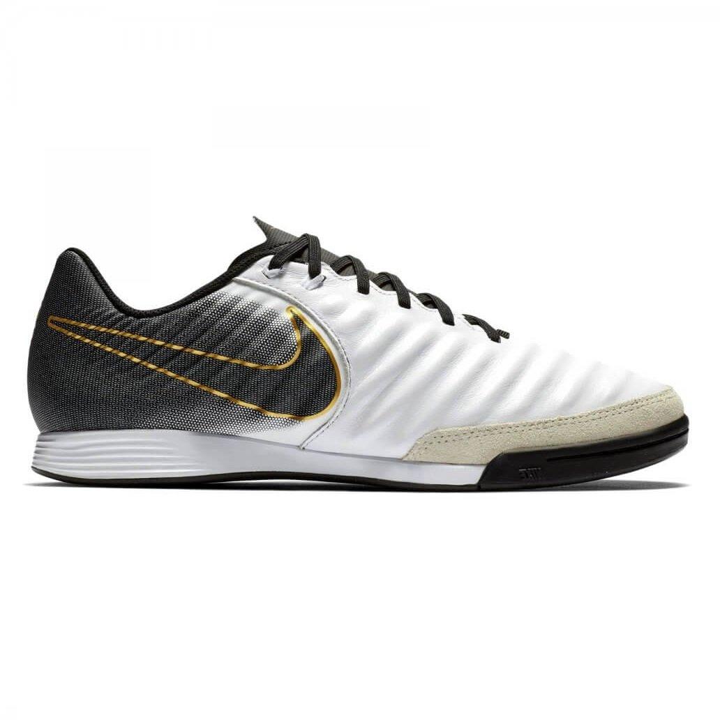 78f950c61 Indoor Nike Tiempo LegendX 7 Academy IC AH7244-100 - Branco/Preto ...