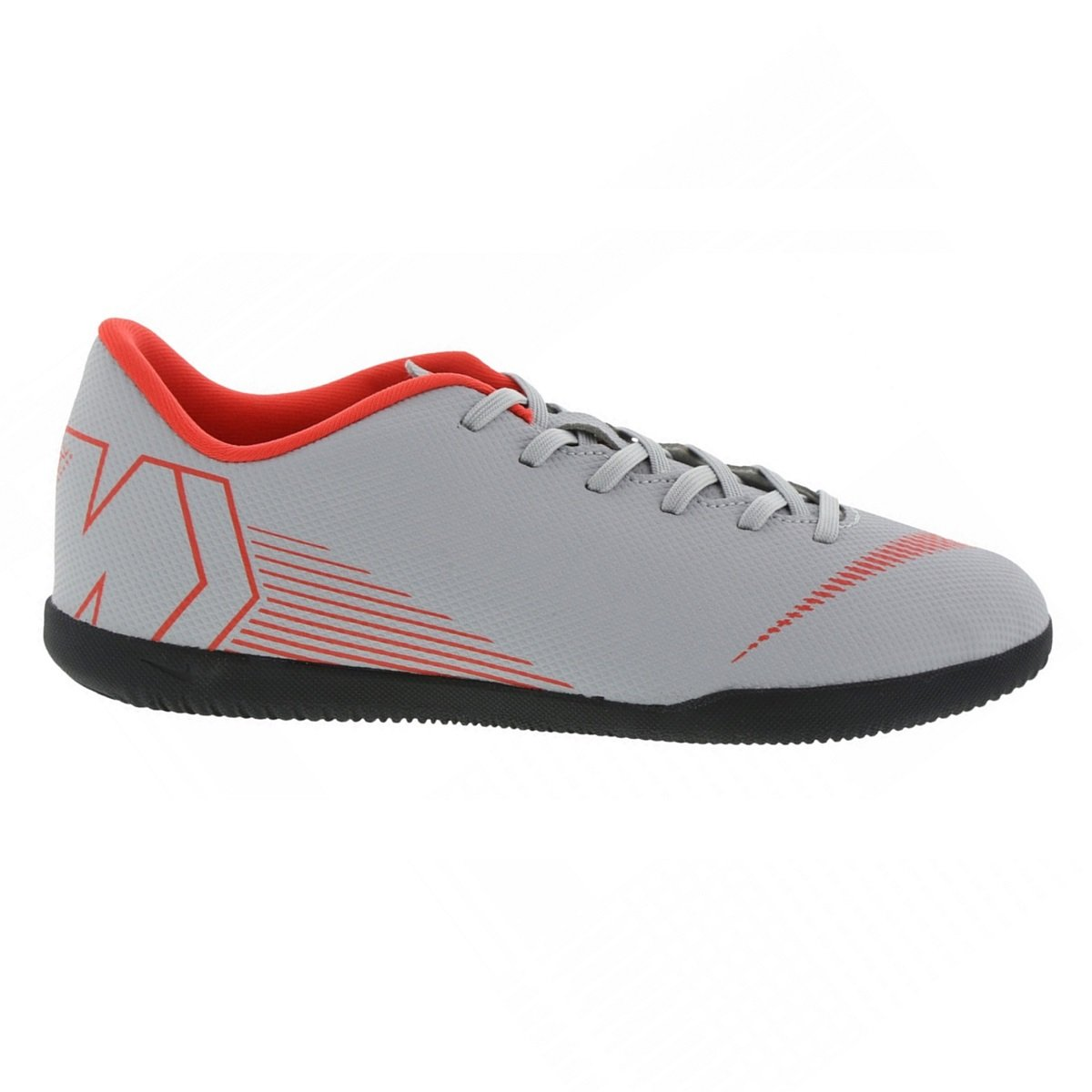 2794dbb020 Indoor Nike Vaporx 12 Club IC AH7385-060 - Cinza Vermelho - Calçados ...