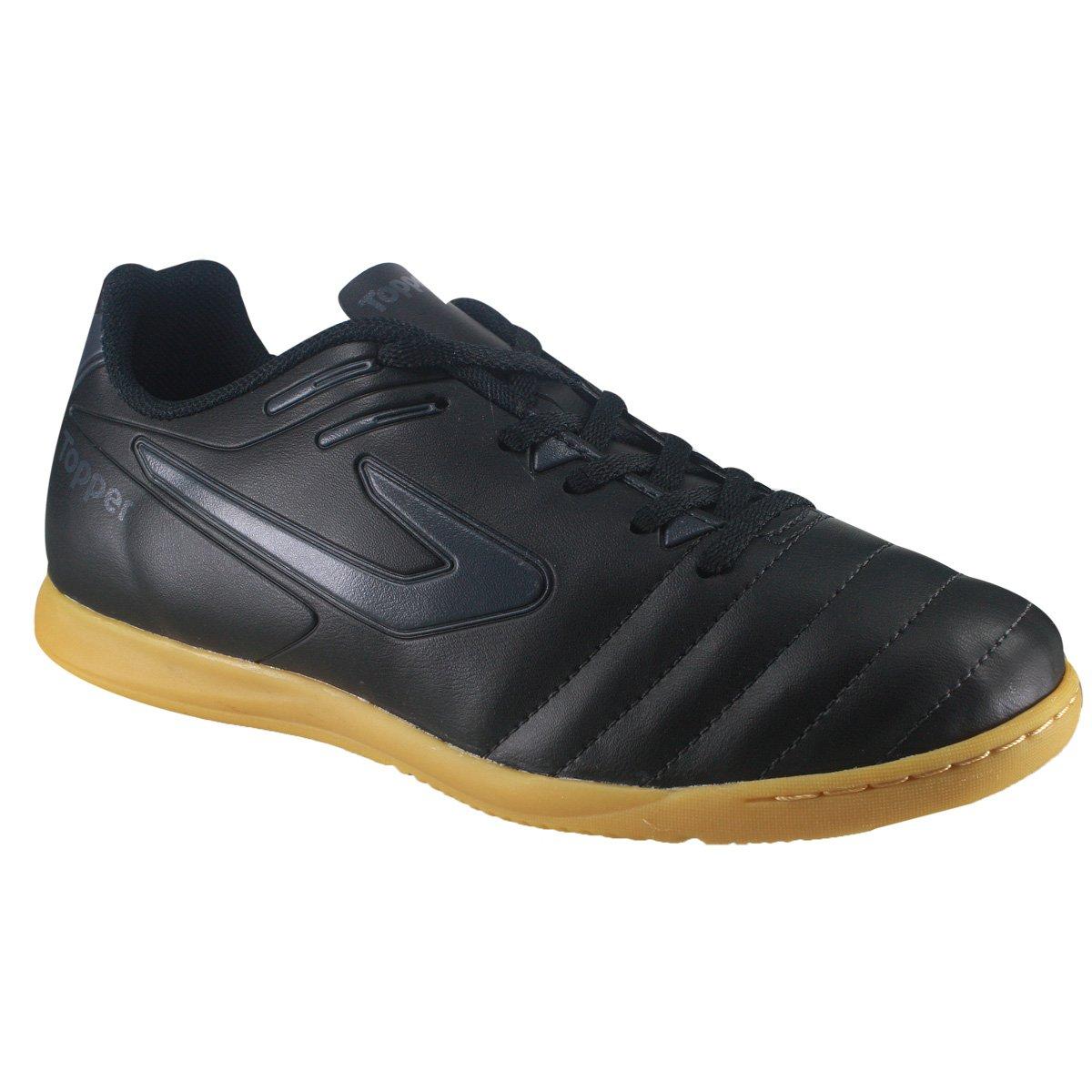 26722fed5c Indoor Topper Boleiro 4200391-1591 - Preto Chumbo - Calçados Online ...