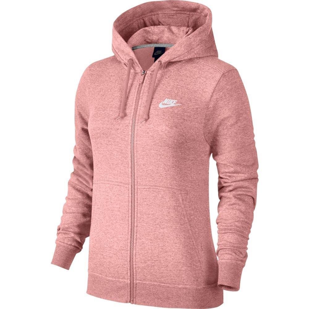 Jaqueta Feminina Nike Hoodie Fz Flc 853930-697 - Rosa - Calçados ... 57218167236d6