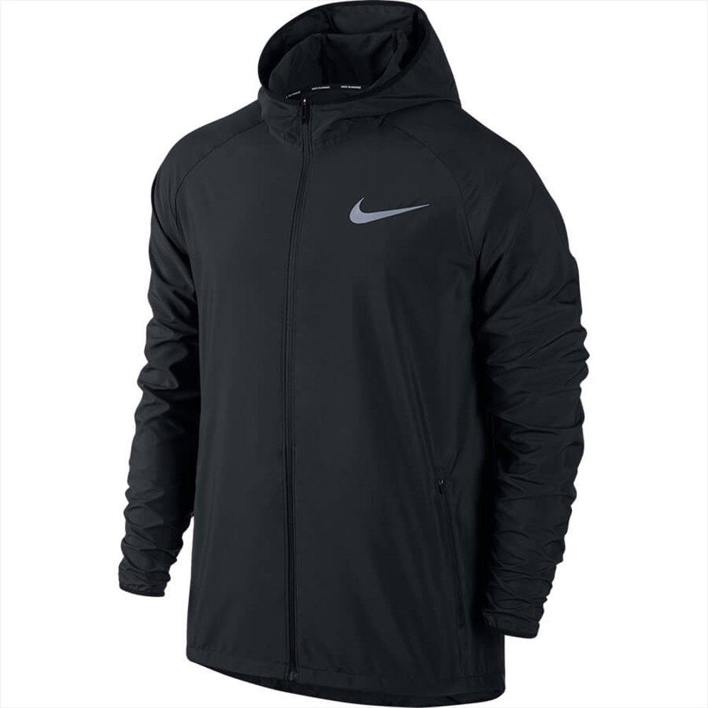 Jaqueta Masculina de Corrida Nike Essential 856892-010 Preto (Poliéster) b8de7920b018a