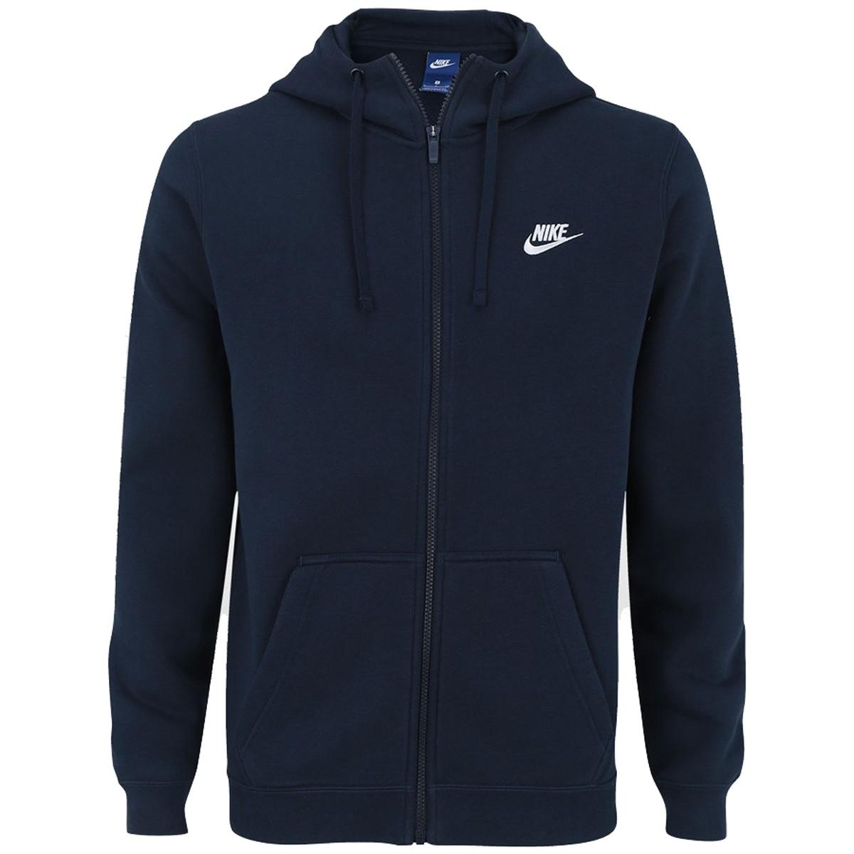 Jaqueta Masculina Nike Hoodie Club 804389-451 Marinho f31e539964952