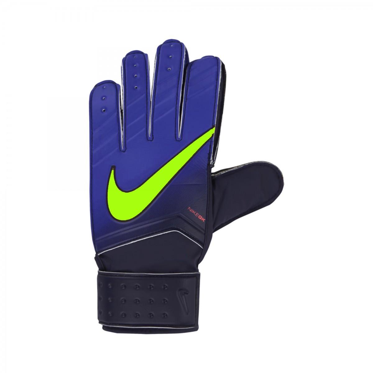 Luva de Goleiro Nike GK Match GS0330-451 - Azul - Calçados Online ... d5cba0b0c0734