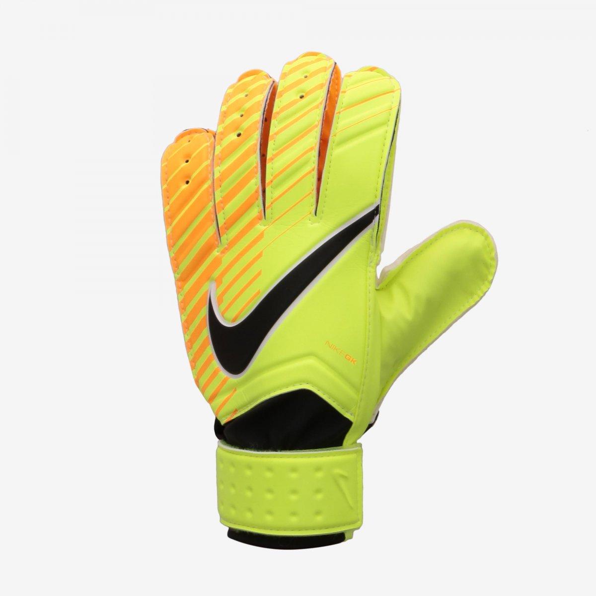 Luva de Goleiro Nike Match Infantil GS0343-715 - Verde Laranja ... aa3247cac5473