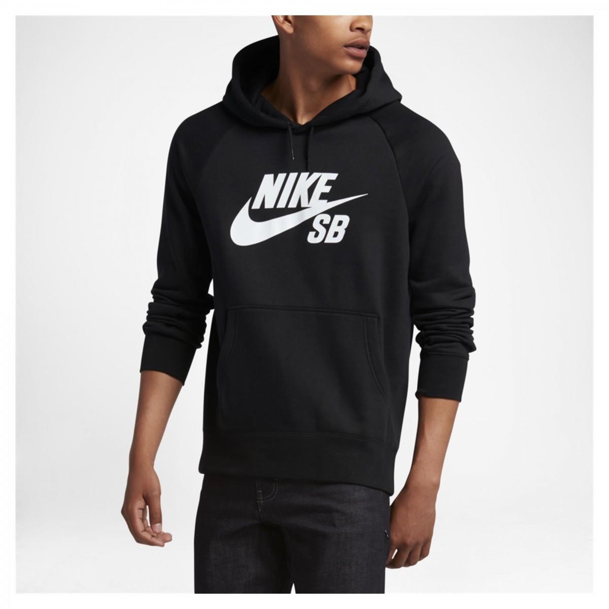 db337f23bb Moletom Nike SB Icon Hood 846886-010 Preto