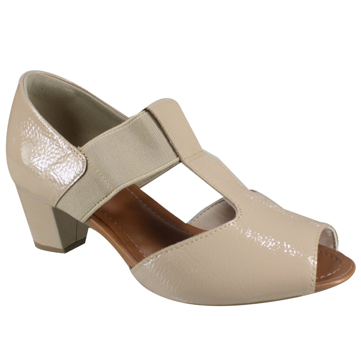 406857a16 Sandália Feminina Usaflex AA2606 2 - Blush (Verniz Soft) - Calçados ...