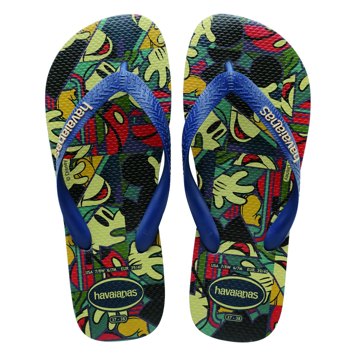 a09b9b552f6670 Sandália Havaianas Disney Stylish 4123500 - Marinho - Calçados ...