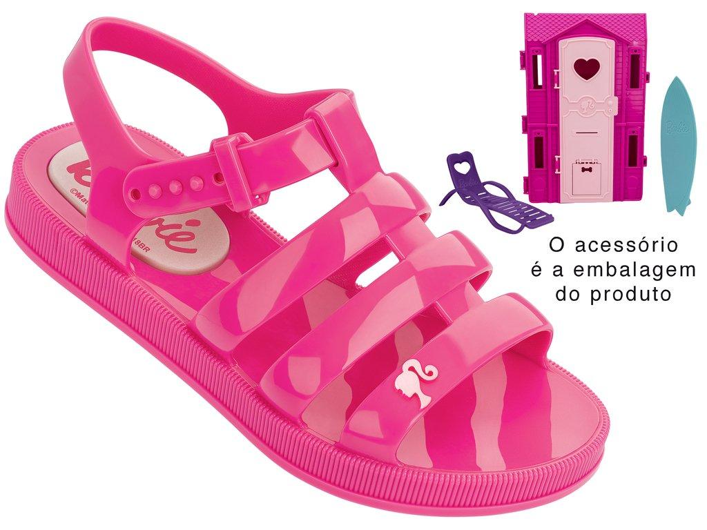 cea4cbe262 Passe o mouse na imagem para ampliar Ampliar imagem. Sandália Infantil  Grendene Barbie Dream House (Com Brinde)