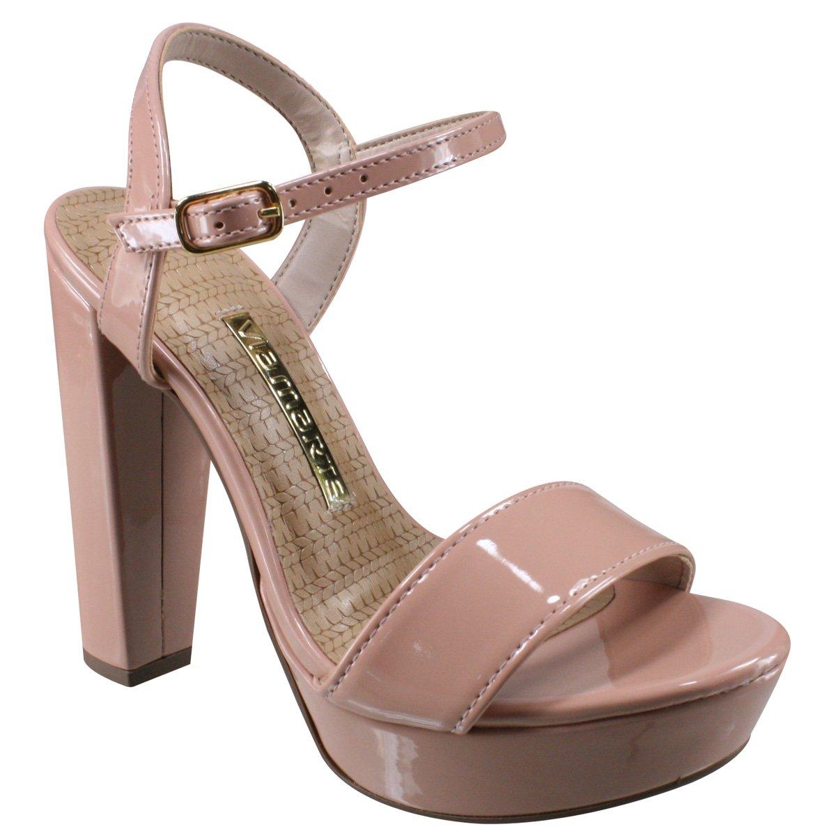 109d0ba5a Sandália via marte meia pata pêssego verniz calçados jpg 1200x1200 Sandalias  calcados via marte