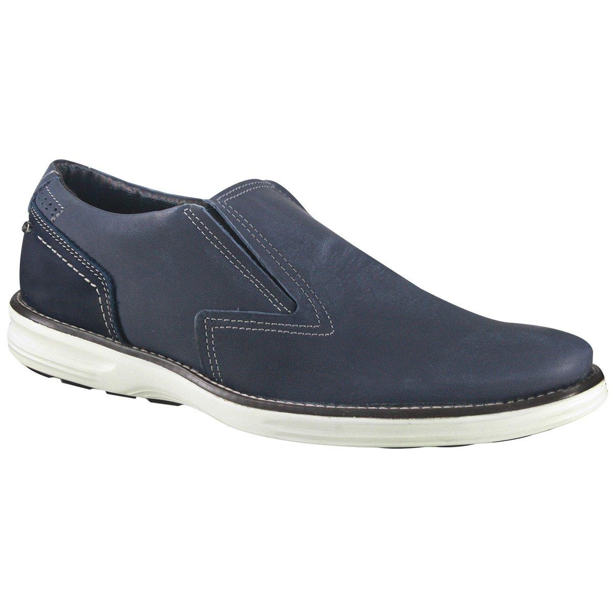 0aac458000b Sapatênis Masculino Pegada Pull Up 124904-03 - Jeans (Nobuck Safira ...