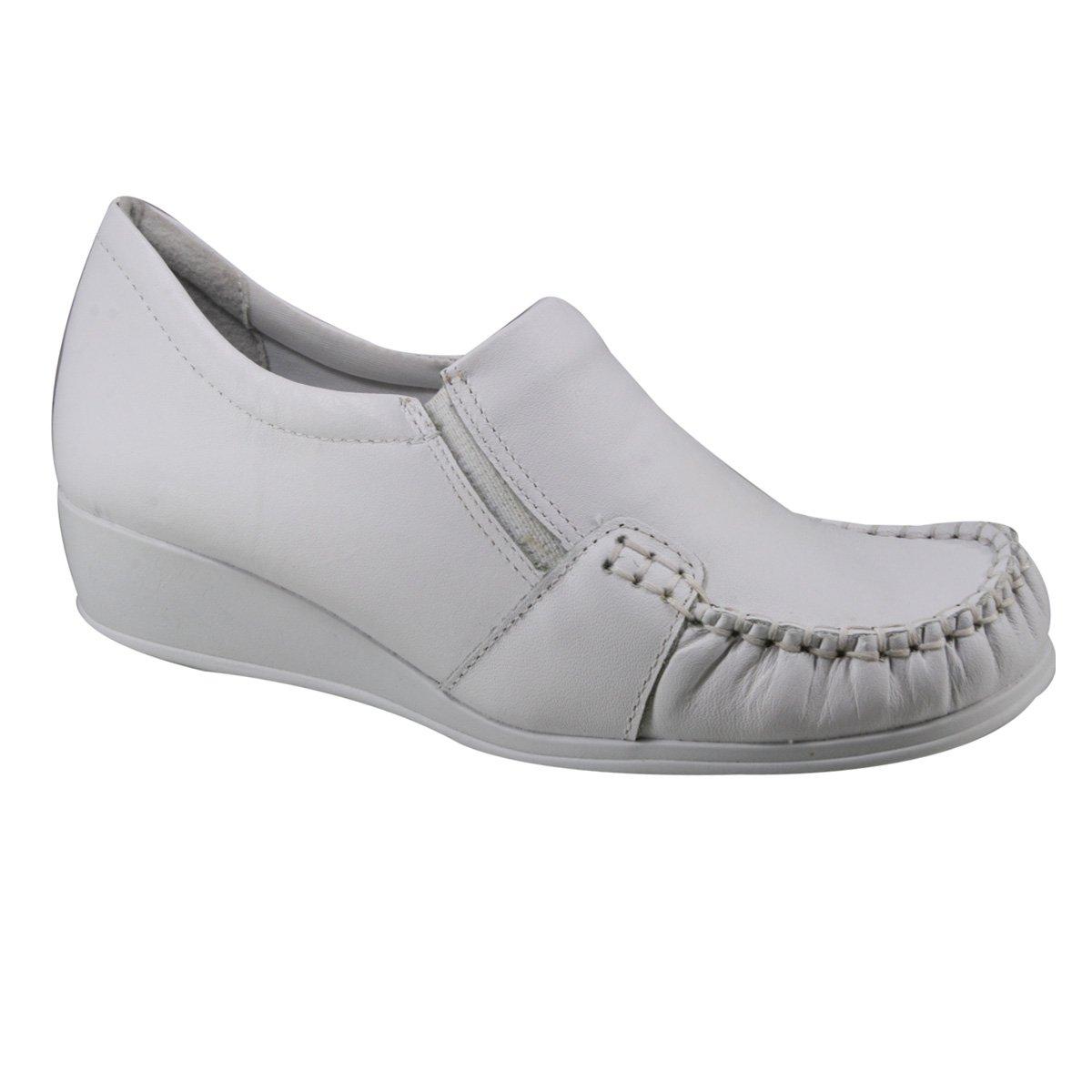 df0d5c329 Sapato Anabela Comfortflex 17-93303 - Branco (Napa Vestuário ...