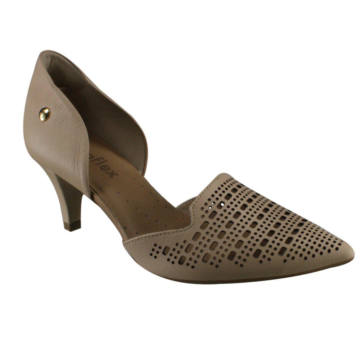 c3d2e6cbb Sapato Feminino Usaflex J6452 10 - Blush (Caprina) - Calçados Online ...