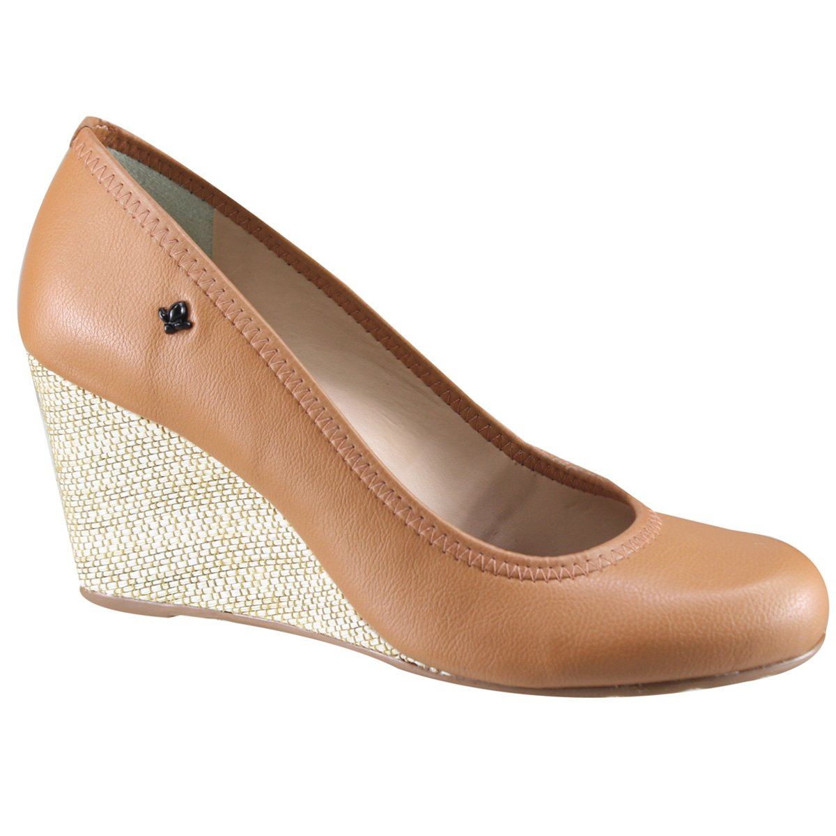a8577086d Sapato Feminino Anabela Cravo e Canela 158001 3 - Ambar (Matelasse ...