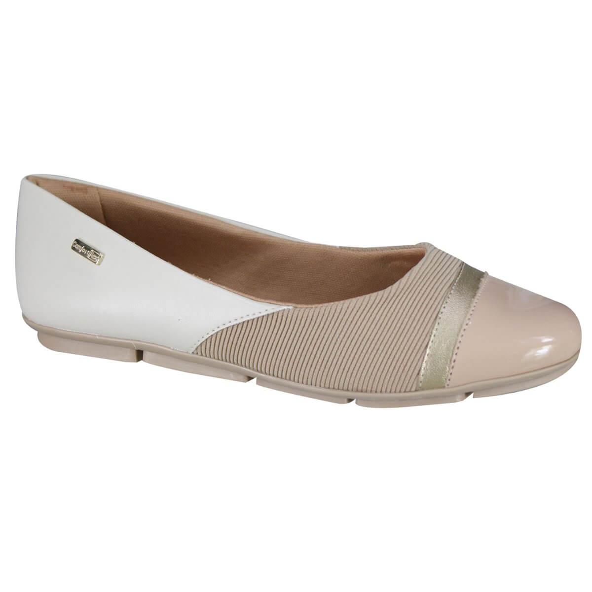 140457627 Sapato Feminino Comfortflex 19-63305 000001 - Blush (Verniz Plus ...
