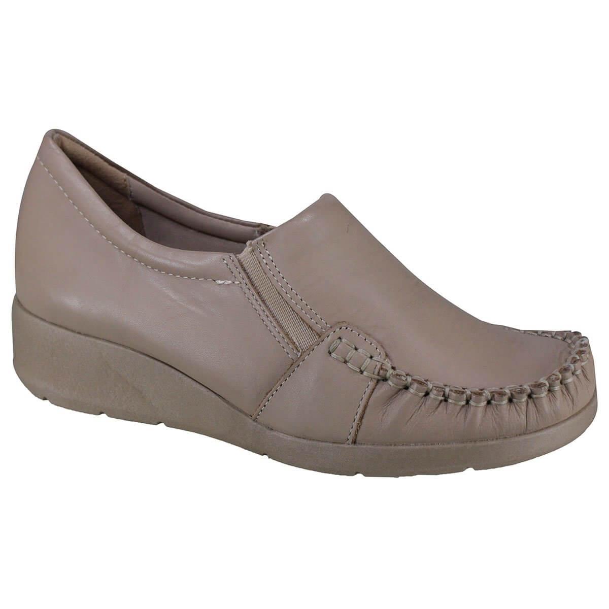 80e44d632 Sapato Feminino Comfortflex 18-93304 000010 - Avelã (Napa Vestuario ...